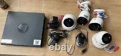 Swann DVR4-4580v 4 Channel Recorder With HD 4 Cameras CCTV Kit
