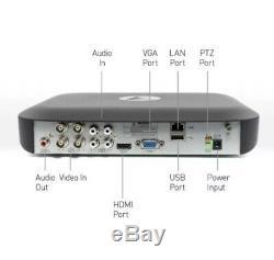 Swann DVR4 4980 4 Channel 5MP Super HD 1080p DVR AHD 1TB HDD CCTV Recorder HDMI
