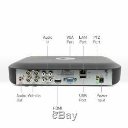 Swann DVR4-4980 4 Channel 5MP Super HD 1080p DVR AHD 1TB HDD CCTV Recorder HDMI