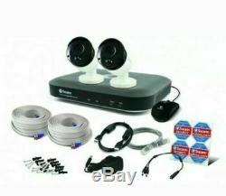 Swann DVR4 4980 4 Channel Super HD 1080p 5MP CCTV Recorder HDMI With 2 x Camera