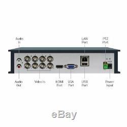 Swann DVR8 4575 8 Channel HD 1080p DVR AHD TVI 1TB HDD CCTV Recorder HDMI VGA