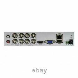 Swann DVR8-4575 8 Channel HD 1080p DVR AHD TVI 2TB HDD CCTV Recorder HDMI VGA