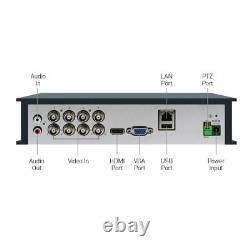 Swann DVR8 4575 8 Channel HD 1080p DVR AHD TVI 2TB HDD CCTV Recorder HDMI VGA