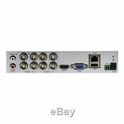 Swann DVR8-4580 8 Channel HD 1080p DVR AHD TVI 1TB HDD CCTV Recorder HDMI VGA