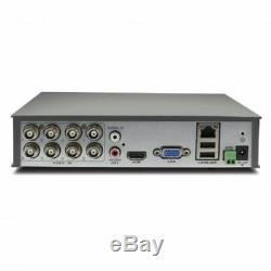 Swann DVR8-4600 8 Channel HD AHD 1080p DVR 1TB HDD CCTV Video Recorder HDMI VGA