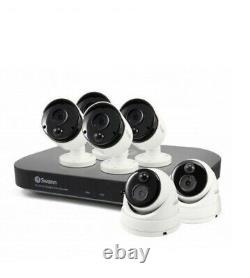 Swann DVR8 4980 8 Channel Super HD 3K DVR 2TB 5MP Dome / Bullet Camera CCTV Kit