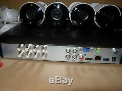 Swann DVR8-4980 DVR Recorder Qty 4 x Pro-5MPMSB 5MP Super HD Cameras