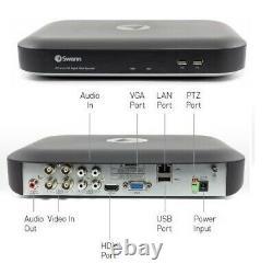 Swann DVR 4980 4 8 Channel 5MP HD 2TB Digital Video Recorder CCTV BNC HDMI VGA