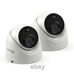 Swann DVR 5580 8 Channel 4K UltraHD Recorder 2TB Dome Bullet CCTV Flashlight Kit