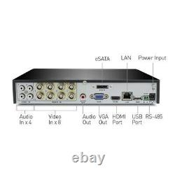 Swann DVR 8-4100 8 Channel CCTV HD 960H Digital Video Recorder 2TB DVR HDMI VGA
