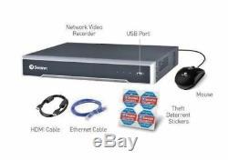 Swann NVR8 8000 8 Channel 4K Ultra HD NVR Network Video recorder 4TB HDD CCTV