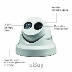 Swann NVR 8000 4K Ultra HD Network Video Recorder CCTV 4TB NHD-881 Dome Cameras