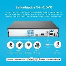 Swann PRO-1080MSB DVR System Kit with 4 Camera 2mp CCTV 4CH Recorder