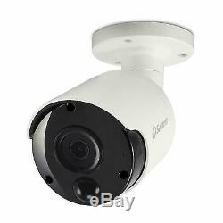 Swann PRO-5MPMSB 5MP DVR System Kit with Zxtech 4 Channel CCTV 4CH Recorder 3TB