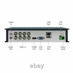 Swann Smart CCTV DVR 8 Channel AHD 1080P Video Recorder HD VGA HDMI BNC NO HDD