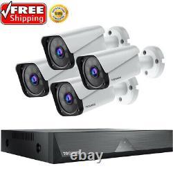 Überwachungskamera 1080P HD 8CH DVR Recorder CCTV IP Kamera Video PIR Nachtsicht