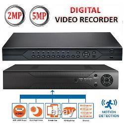 Ultra HD CCTV DVR 4 8 16 32 Channel 4in1 1920P Video Recorder HDMI BNC VGA