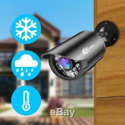 XVIM 1080P HD Video Recorder 1500TVL CCTV Security Camera kit system IR outdoor