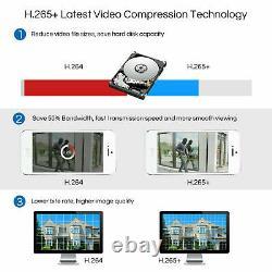 ZOSI CCTV Cameras Full HD 1080P 8CH DVR Recorder 3000TVL Home Security System IR
