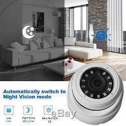 1080n 16ch Dvr Record Cctv Maison De Sécurité Ir-cut 8dome Caméra H. Kit 264 Hd System