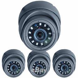 1080n 8 Canaux Dvr Xvr Nvr Cctv Caméra Dôme Extérieur Accueil Système D'enregistrement De Sécurité