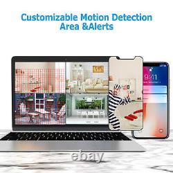 1080p 4ch Dvr Recorder 3000tvl Home Security Système De Caméra Cctv Outdoor Ir Night