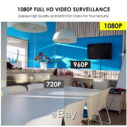 1080p Haute Définition Complète Hybride 4-en-1 Hd Dvr Tvi Enregistreur Vidéo Cctv 8ch