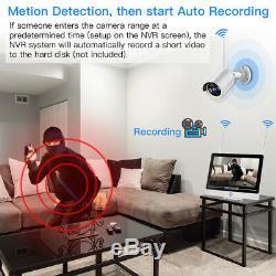 1080p Moniteur De Sécurité Sans Fil De 2mp Accueil Sécurité Système De Vidéosurveillance Dvr Enregistreur