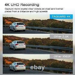 12'' Autokamera 4k Rückfahrkamera Spiegel Enregistreur Dvr Caméscope Sony Nachtsicht