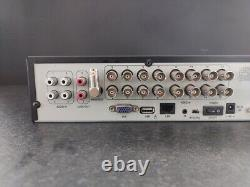 16 Canaux Cctv Digital Video Recorder-dvr 1 To Hdd +power Lead Fully Working Uk