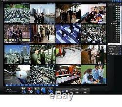16 Ch Canal Cctv Hdmi Enregistrement En Temps Réel Dvr Système De Sécurité 960h Record