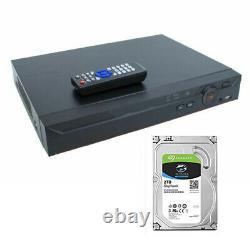 16 Channel Xvr 4k 4mb Ip Dvr CVI Tvi Ahd Enregistreur Cctv 2tb Oem Dahua
