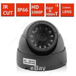 1 To Hdd 4ch Cctv Dvr Enregistrement 2.4mp 1080p Kamera Ir-cut Heim Sicherheits Système