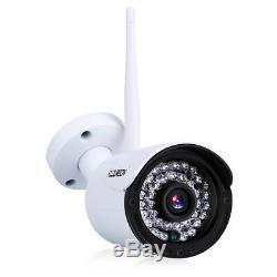 1tb Hdd Avec Wireless Nvr 4ch Dvr Cctv1080p Wlan Enregistreur Caméra De Sécurité Ip Set