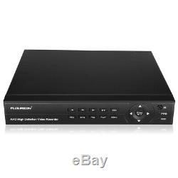 1tb Hdd Cctv 8ch 1080p 1080n Dvr Enregistreur 3000tvl Extérieur Système De Caméra De Sécurité