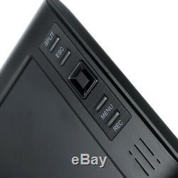 2x Caméra Cctv Numérique Sans Fil Avec 7 '' Moniteur LCD Dvr Enregistrement Home Security