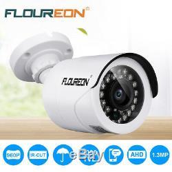 3000tvl 1080p Cctv Dvr Ip Caméra De Sécurité Extérieure Ahd Ir Video Recorder Système