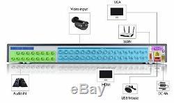 32ch Dvr 5in1 Hdmi Enregistreur Vidéo Pour La Maison Cctv Caméra De Sécurité P2p Système