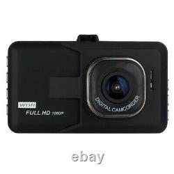 3 En Full Hd 1080p Voiture Dvr Cctv Dash Camera G-sensor Vehicle Video Cam Recorder