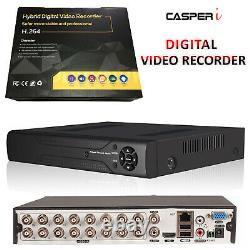 4.0mp 16ch Channel Cctv Dvr Ahd 1440p Digital Video Recorder P2p Hdmi Vga Bnc Royaume-uni
