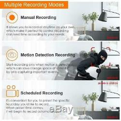 4/8/16 / 32ch 5mp Cctv Dvr Video Recorder Ultra Hd Ahd Tvi Hdmi P2p Accueil Sécurité
