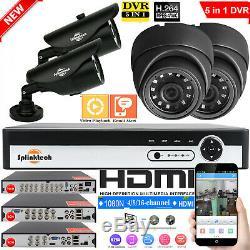 4/8 / 16ch 1080n Cctv Dvr Hdmi Kit De Système De Sécurité Vidéo Pour Caméra Extérieure 1500tvl