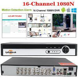 4/8 / 16ch 1080p Cctv Dvr 2.4mp Kit De Système De Sécurité Domestique Pour La Vidéo De Nuit