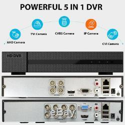 4/8 / 16ch 1080p Dvr Cctv Ahd Tvi Hdmi H. 264 Cloud Network Enregistreur Vidéo Numérique