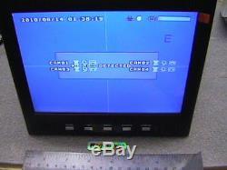4 Caméras De Sécurité Dvr Mobile + Enregistreur Vidéo Cctv 8 LCD