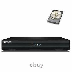 4 Canaux 1080p Hd Dvr Enregistreur Avec Disque Dur 1 To Pour La Sécurité Cctv