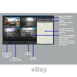 4 Canaux Caméra Cctv Dvr Voiture Taxi Van Digital Video Recorder + Disque Dur 1 To