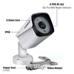 4 Ch 5mp Hd Enregistreur Vidéo Dvr 5mp Cctv Bullet Caméras Système De Surveillance À Domicile