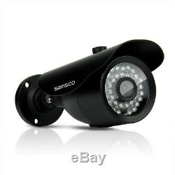 4ch 1080p Hd Dvr Enregistreur 3000tvl Vision Nocturne Système De Caméra De Sécurité Cctv