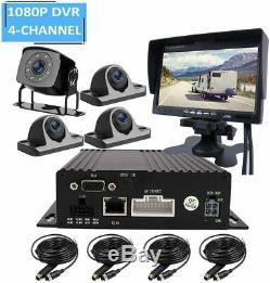 4ch 720p Ahd Sd 512go Dvr Mdvr Enregistreur Vidéo Cctv En Temps Réel Moniteur Système